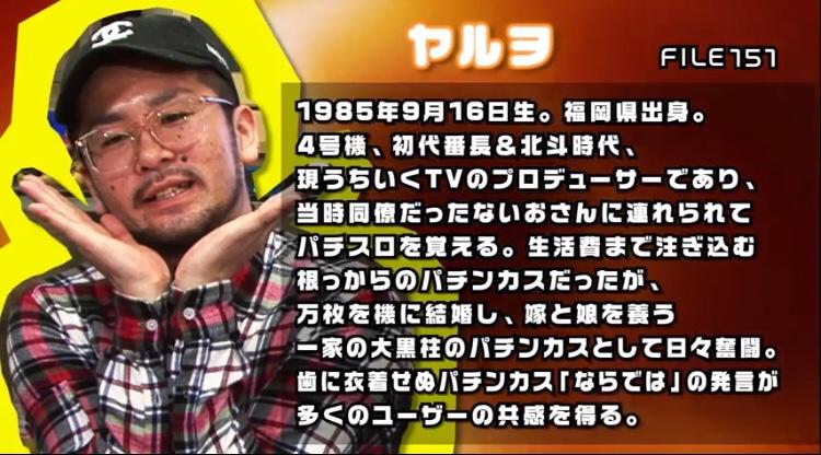 ヤルヲ wiki風プロフィール